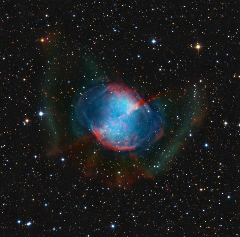 Submitted images m27 the dumbbell nebula collection for Wolfgang pramper